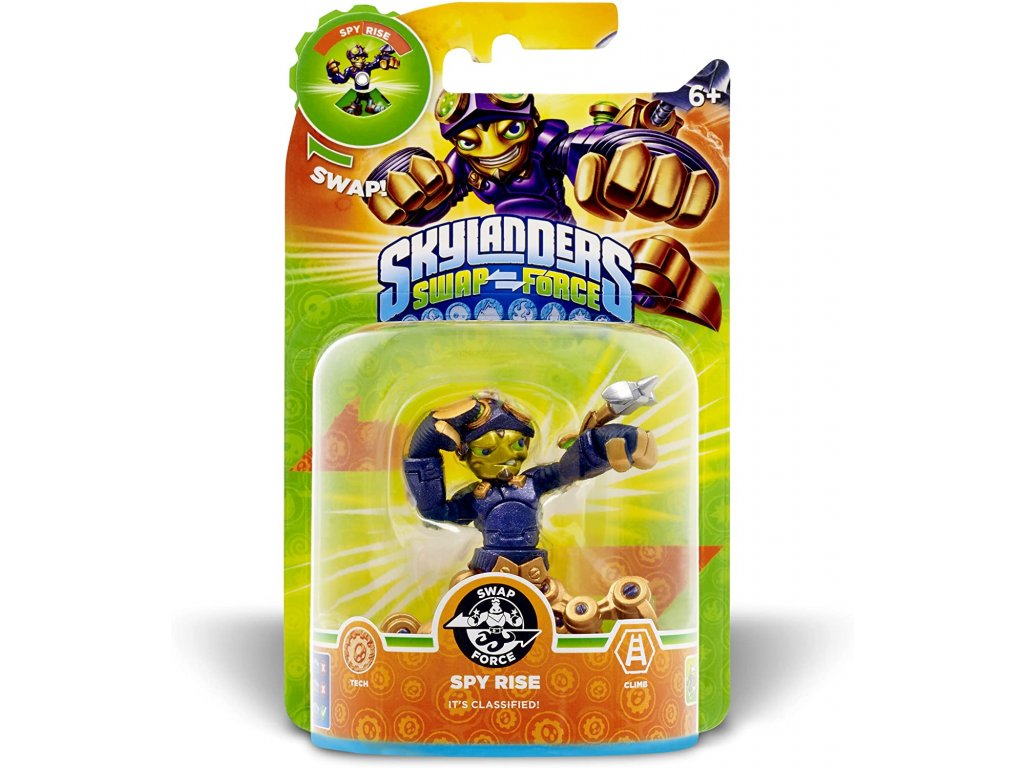 AC SKYLANDERS 3 SWAP FORCE SF SPY RISE