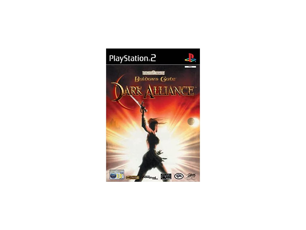 P2S BALDURS GATE DARK ALLIANCE