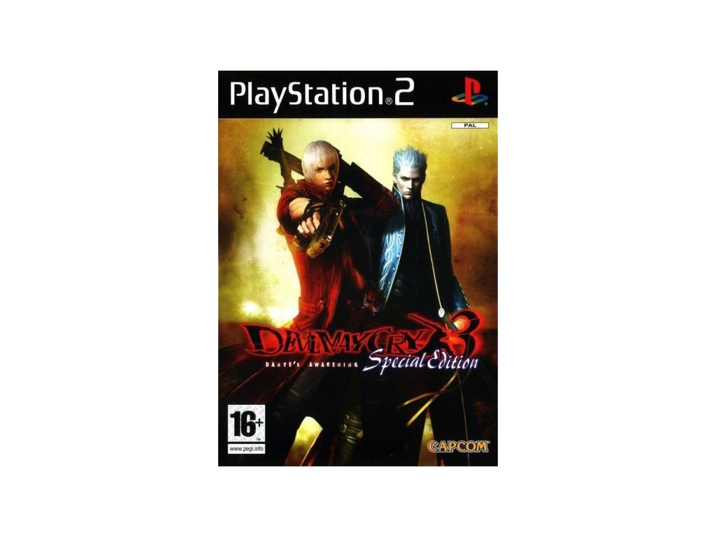 P2S DEVIL MAY CRY 3 SPECIAL EDITION
