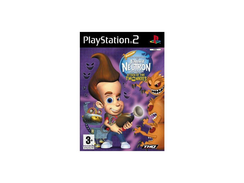P2S JIMMY NEUTRON ATTACK OF THE TWONKIES