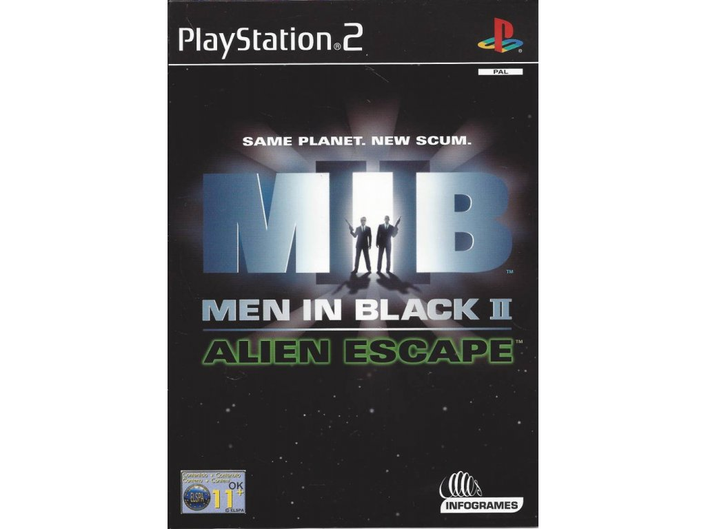 P2S MEN IN BLACK 2 ALIEN ESCAPE
