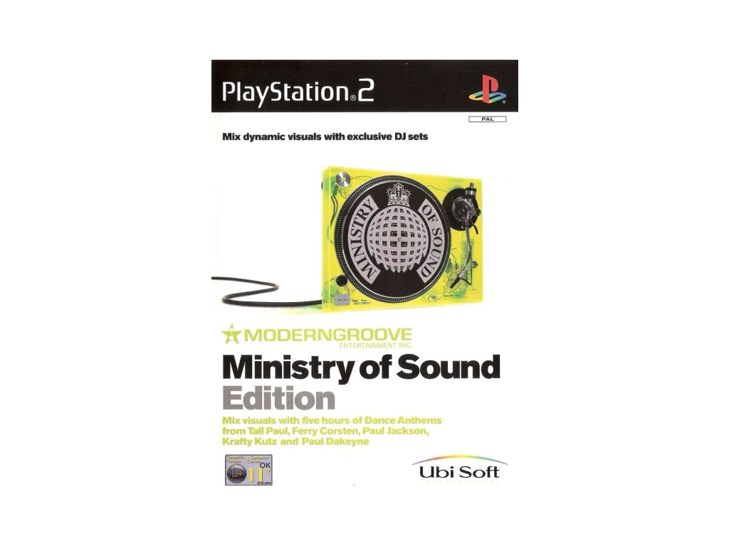 P2S MODERNGROOVE MINISTRY OF SOUND EDITION