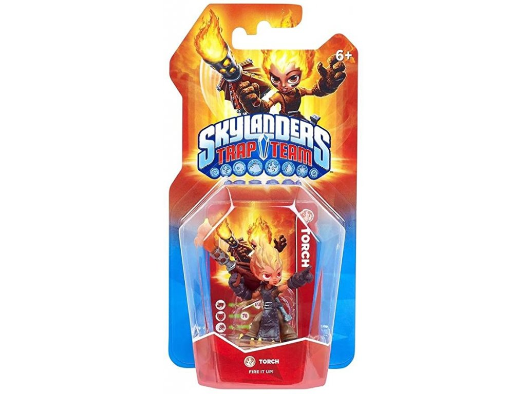 AC SKYLANDERS 4 TRAP TEAM TORCH