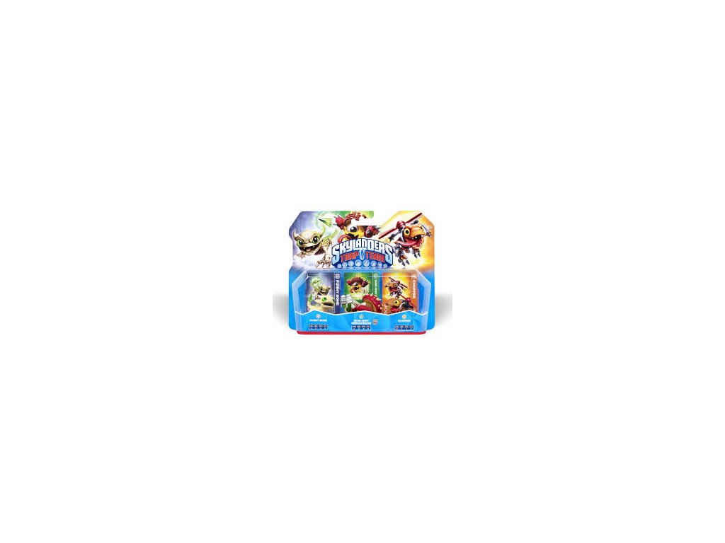 AC SKYLANDERS 4 TRAP TEAM TRIPLE PACK A (CHOPPER+FUNNY BONE+SHROOMBOOM S234)