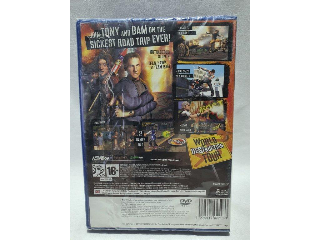 P2S TONY HAWK'S UNDERGROUND 2