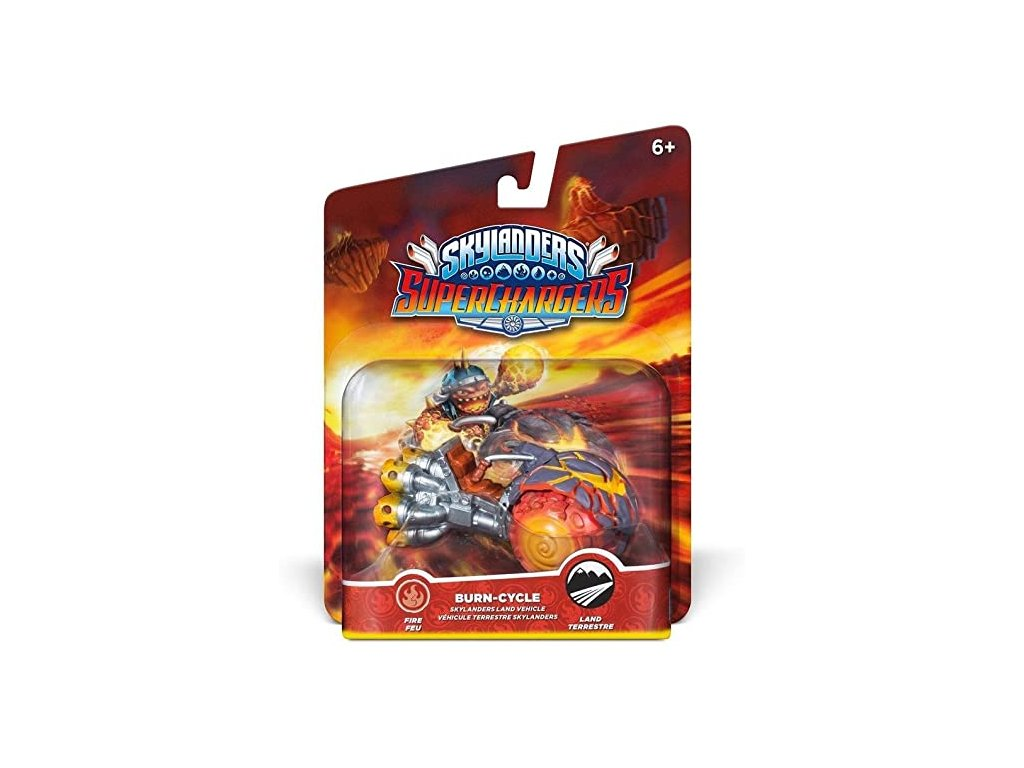 AC SKYLANDERS 5 SUPERCHARGERS LAND VEHICLES BURN CYCLE