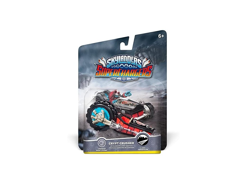 AC SKYLANDERS 5 SUPERCHARGERS LAND VEHICLES CRYPT CRUSHER