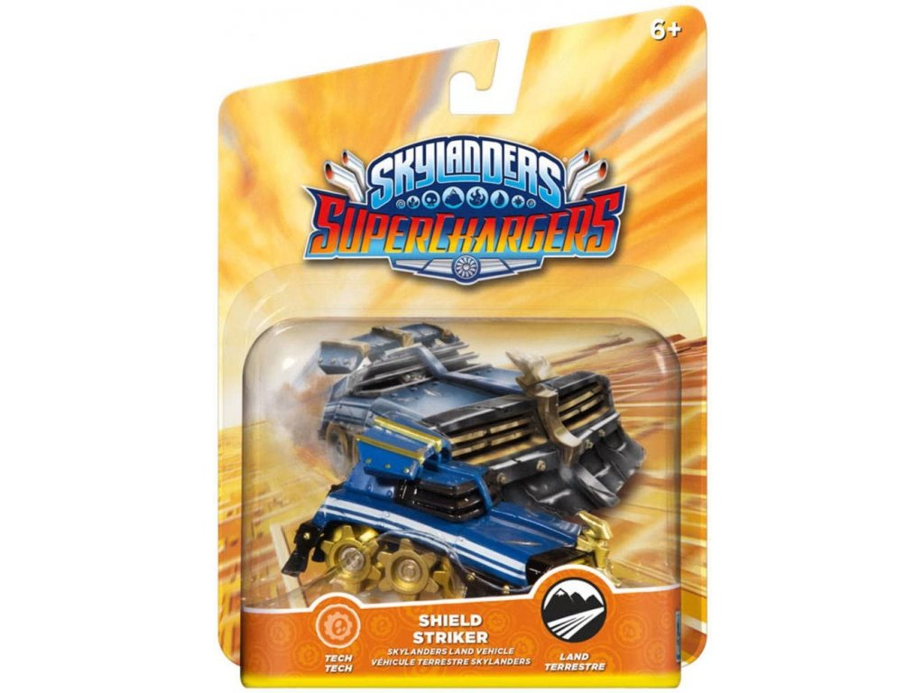 AC SKYLANDERS 5 SUPERCHARGERS LAND VEHICLES SHIELD STRIKER
