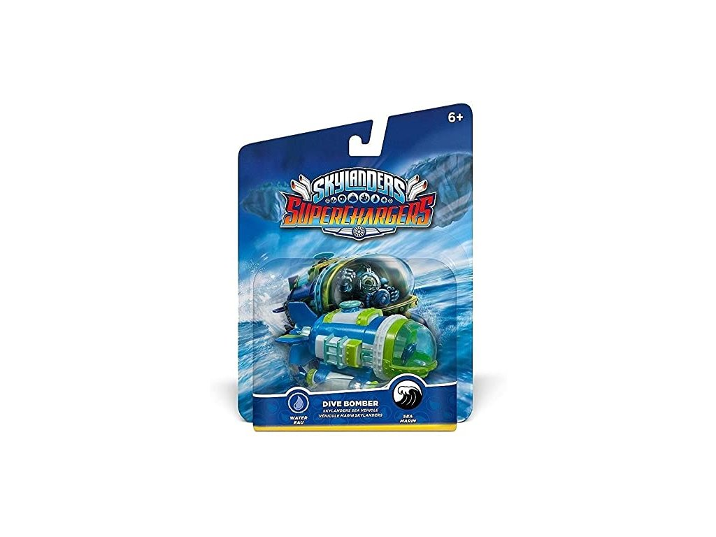 AC SKYLANDERS 5 SUPERCHARGERS SEA VEHICLES DIVE BOMBER