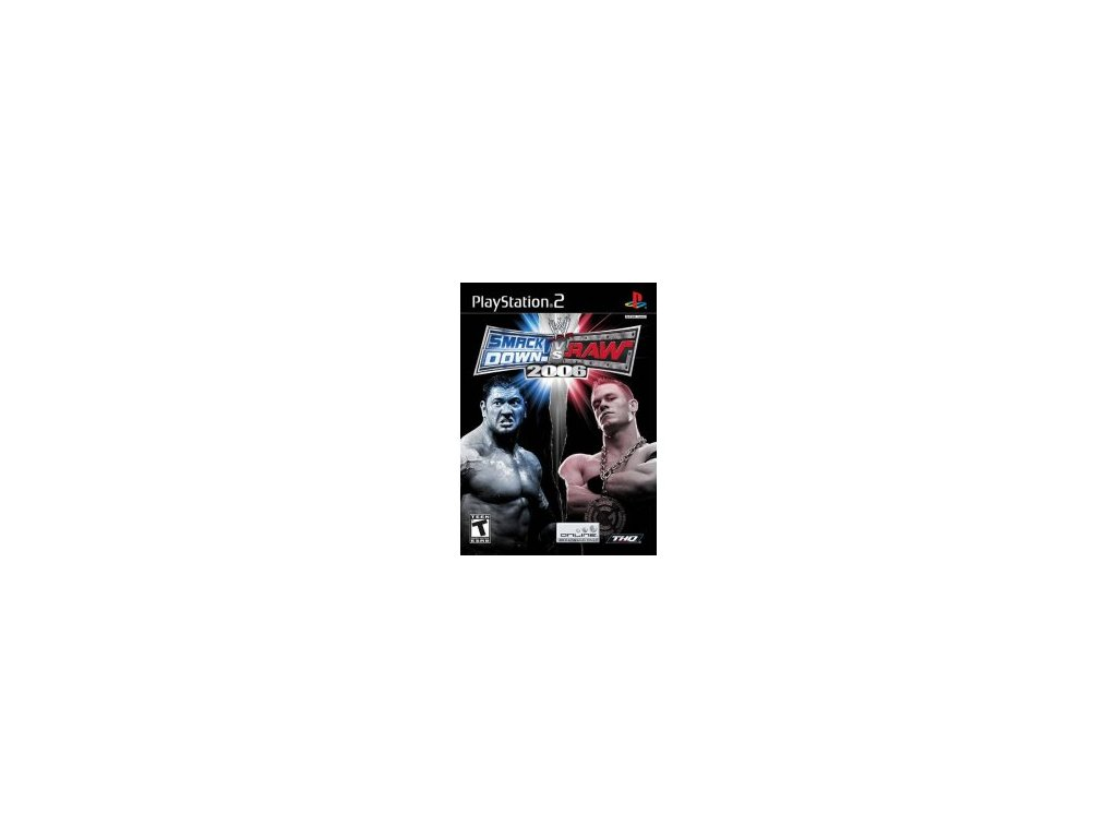 P2S WWE SMACKDOWN VS RAW 2006