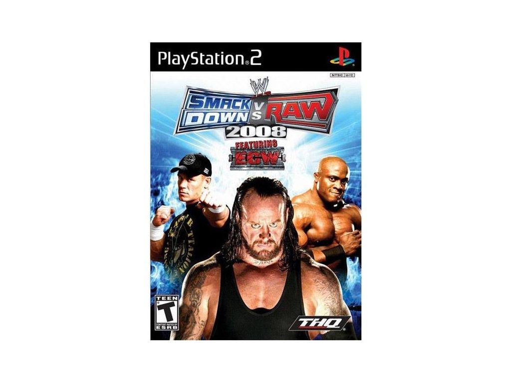 P2S WWE SMACKDOWN VS RAW 2008