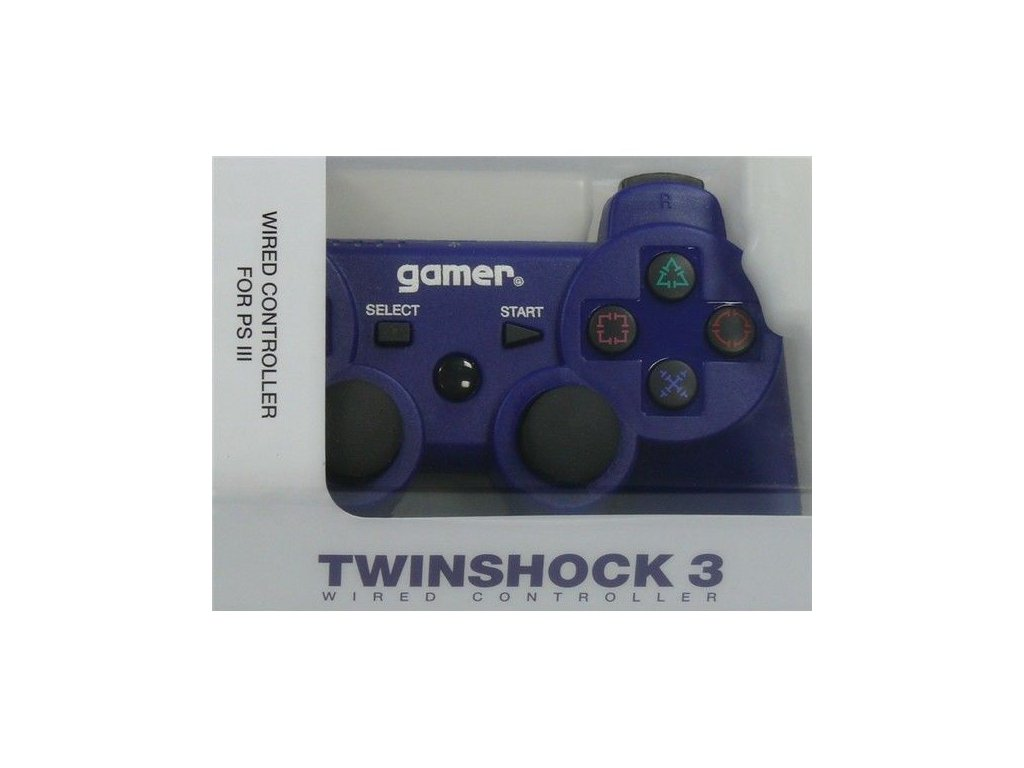 P3H TWINSHOCK 3 WIRED BLUE NO AXIS (GAMER)