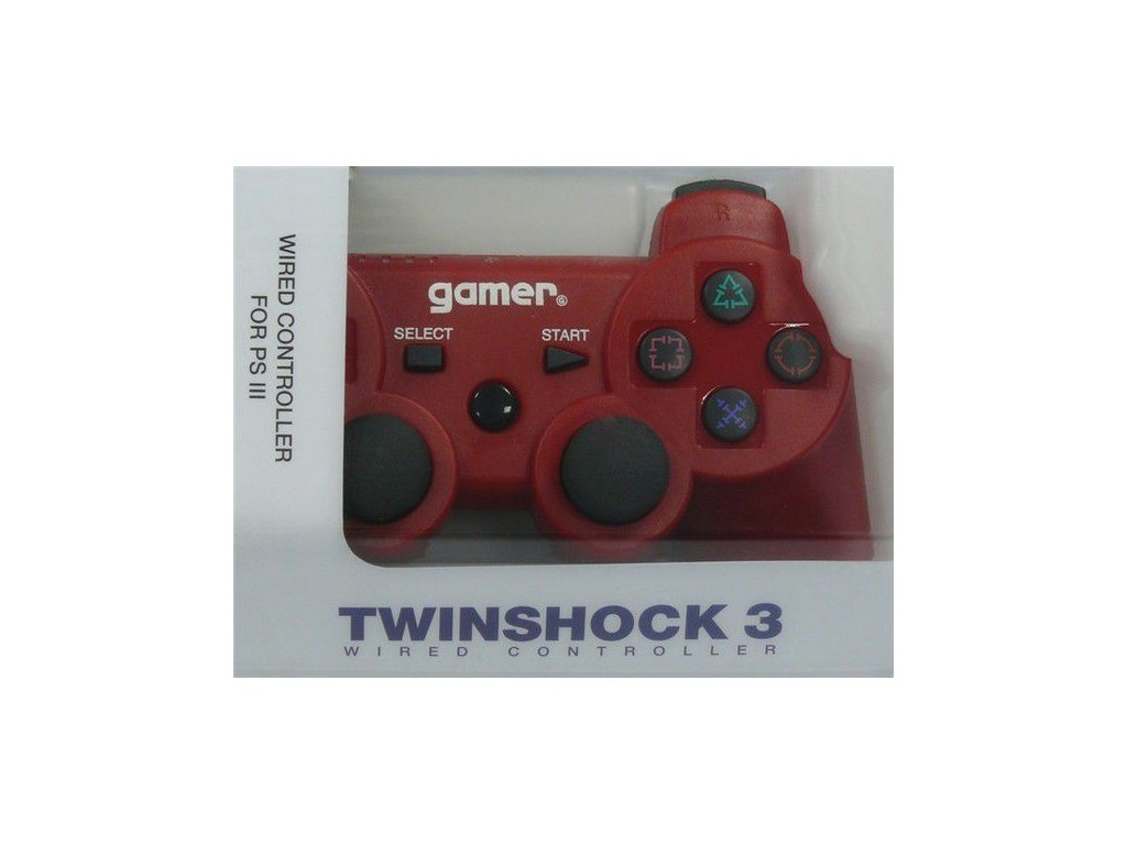 P3H TWINSHOCK 3 WIRED RED NO AXIS (GAMER)