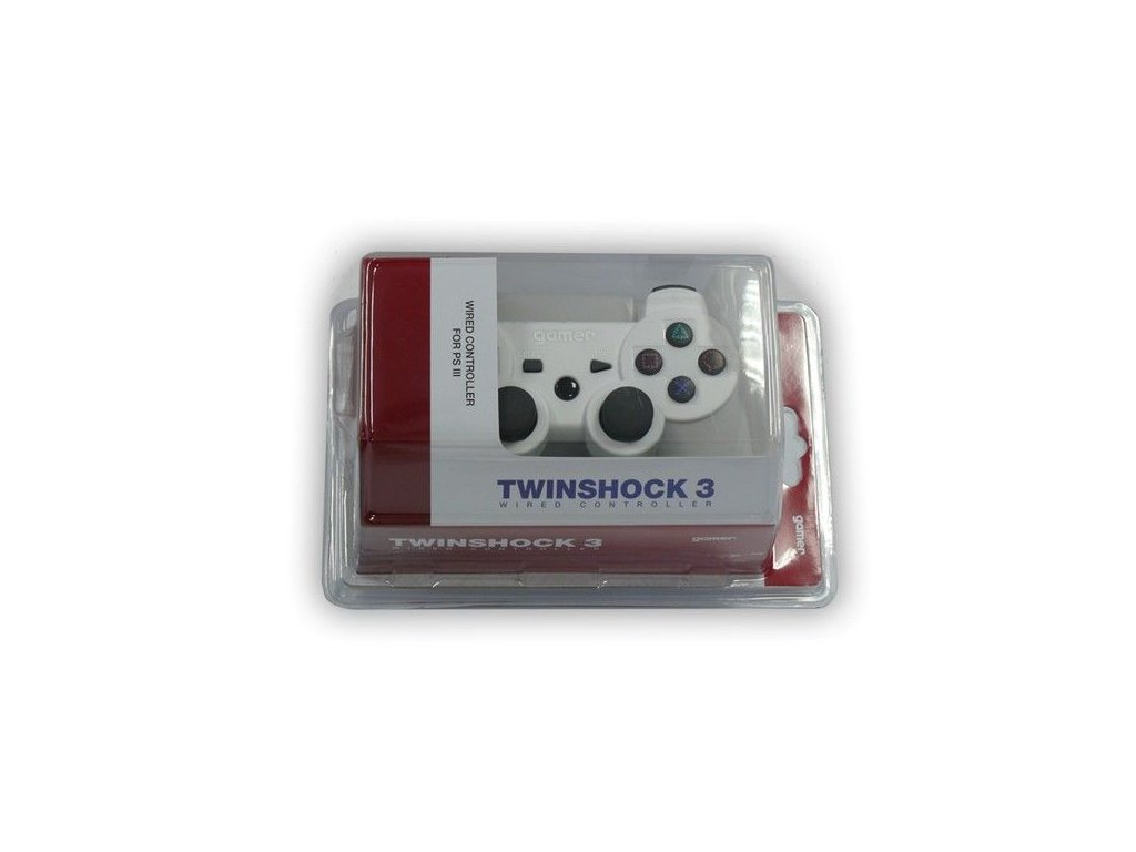 P3H TWINSHOCK 3 WIRED WHITE NO AXIS (GAMER)