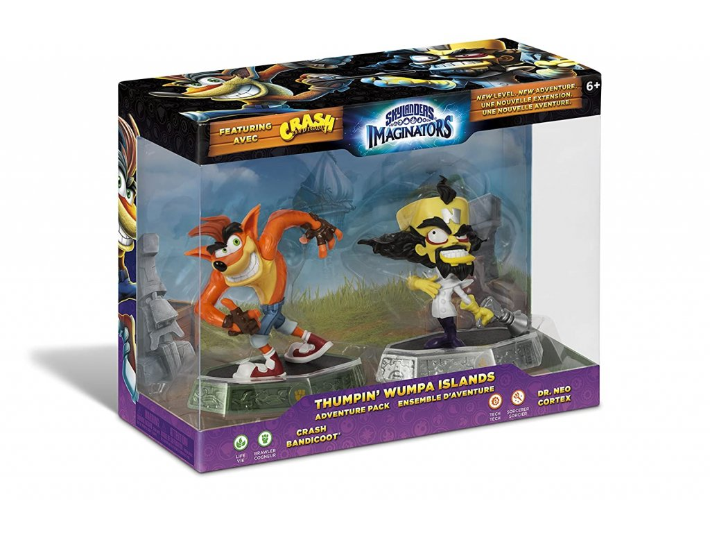 AC SKYLANDERS 6 IMAGINATORS ADVENTURE PACK 3 CRASH THUMPIN WUMPA ISLANDS