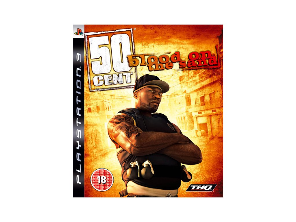 P3S 50 CENT BLOOD ON THE SAND