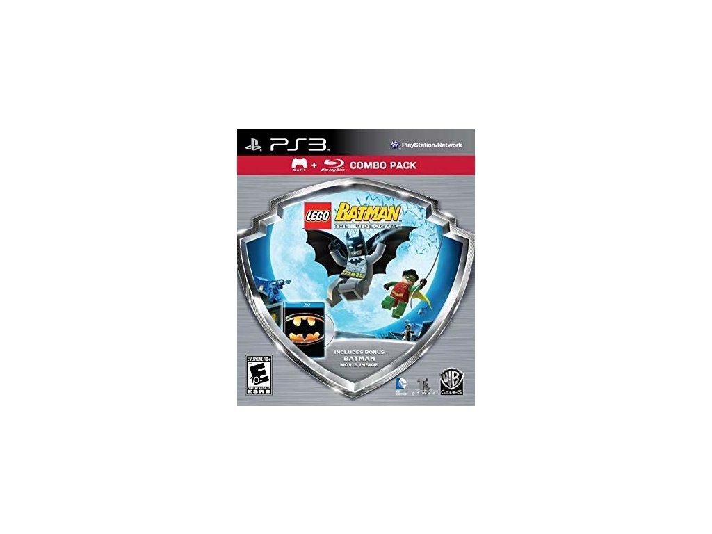 p3s lego batman the videogame combo pack game blu ray movie 284f911cf5b784ac