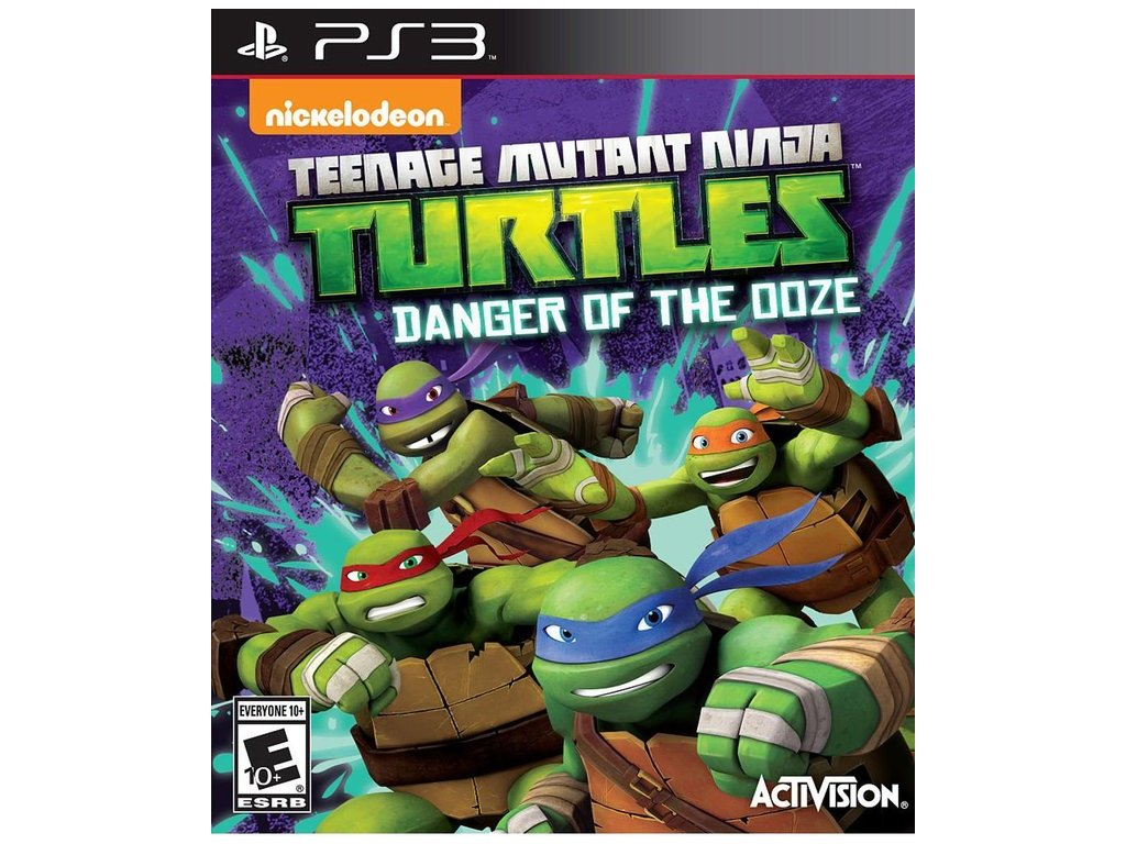 p3s teenage mutant ninja turtles danger of the ooze 9e84543e0c6dde16