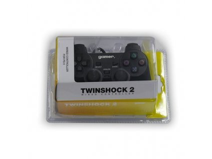 P2H TWINSHOCK 2 WIRED BLACK (GAMER)
