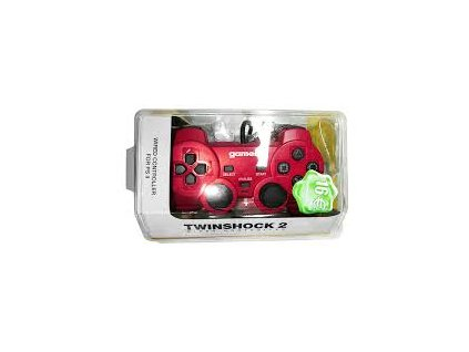 P2H TWINSHOCK 2 WIRED RED (GAMER)