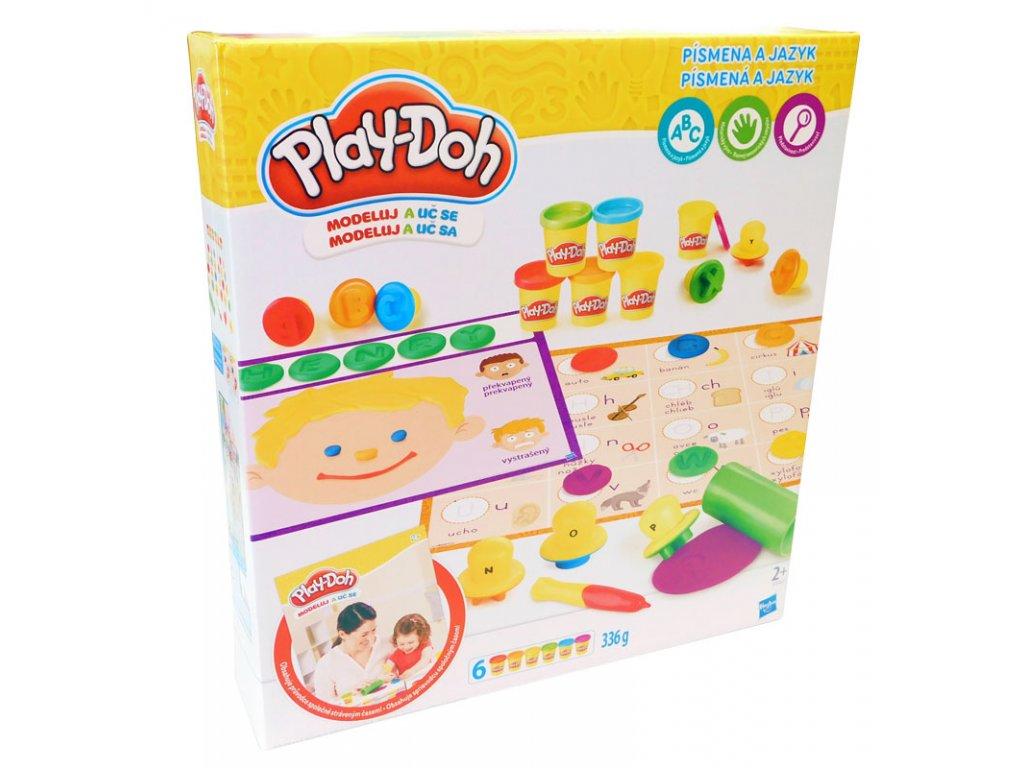 Hravé učení s Play-Doh modelínou