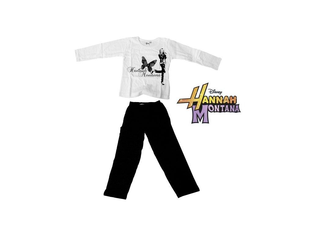 Pyžamo - Hannah Montana (9530) 5/6 bílé