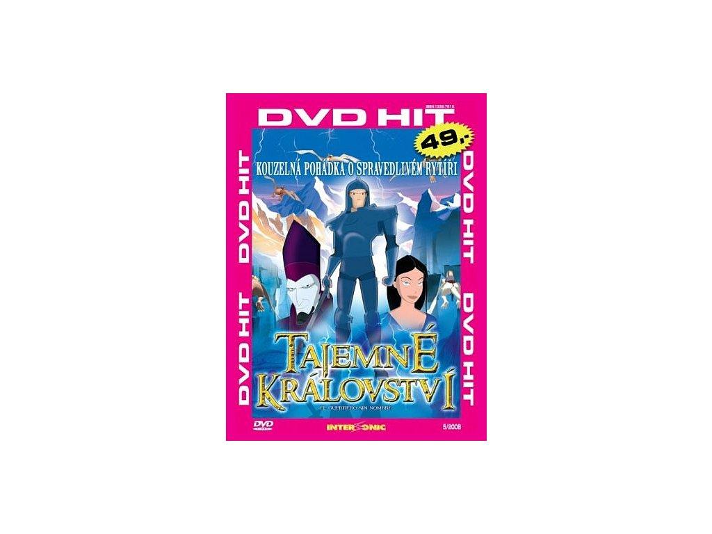 Tajemné království DVD papírový obal