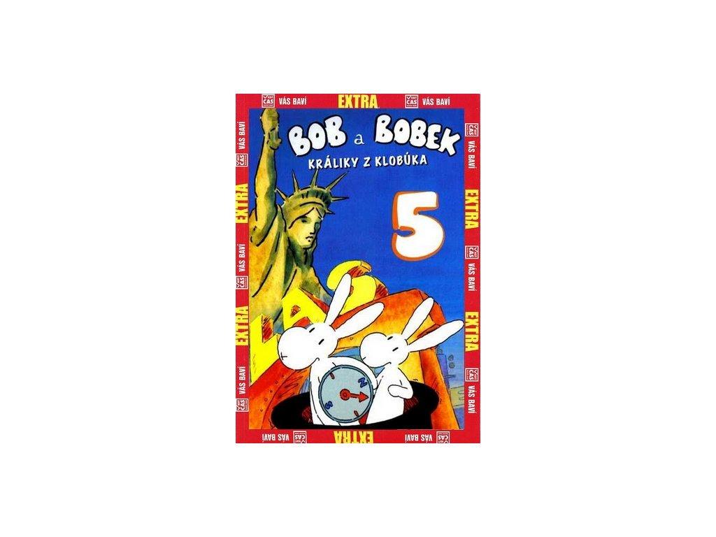 Bob a Bobek králíci z klobouku 5 DVD papírový obal