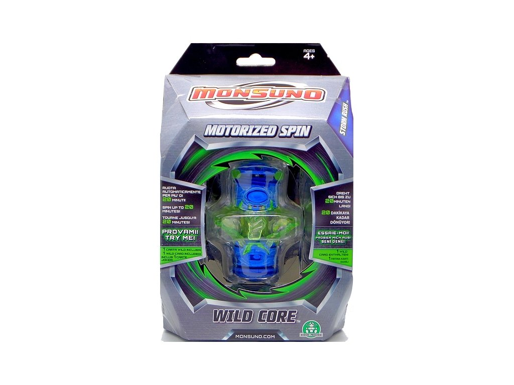 Monsuno - Motorized Spin Wild Core (2473C) Speciální energetický zdroj