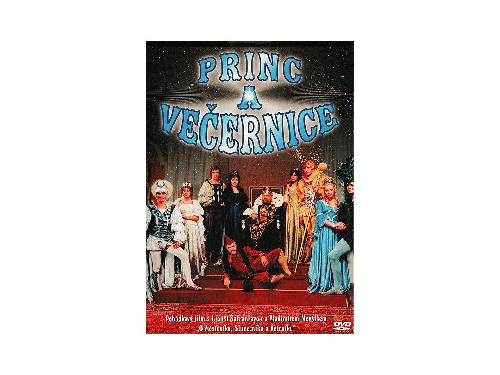 Princ a Večernice DVD papírový obal