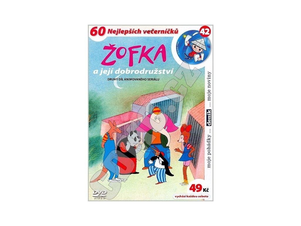 Žofka a její dobrodružství 2 DVD papírový obal