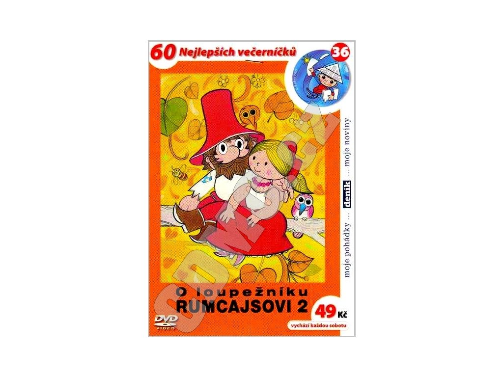 O loupežníku Rumcajsovi 2 DVD papírový obal
