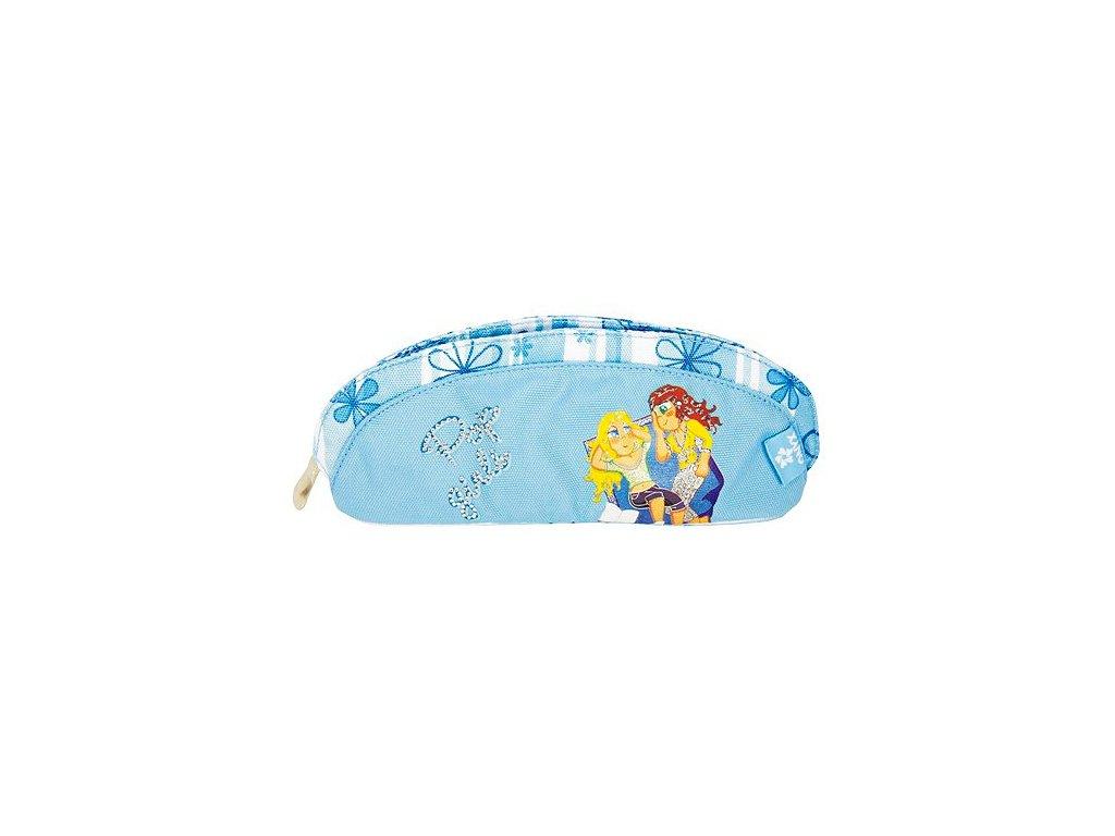 Školní penál Onyx Martina Pop Girls (5489) modrý