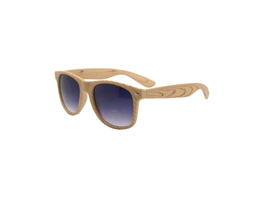 CDMC sluneční brýle RETRO světle hnědé