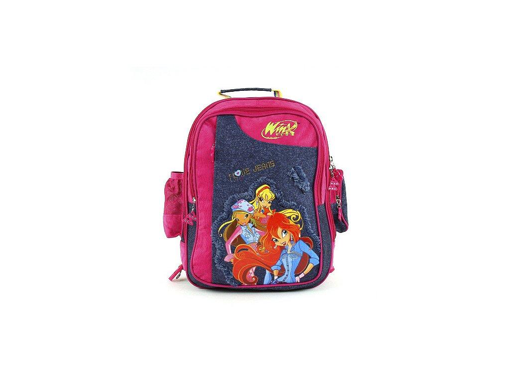 Winx Club - Školní batoh (1626) růžovo-modrý