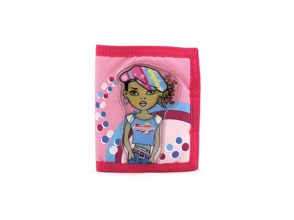 Cool peněženka (7913) holka v bekovce