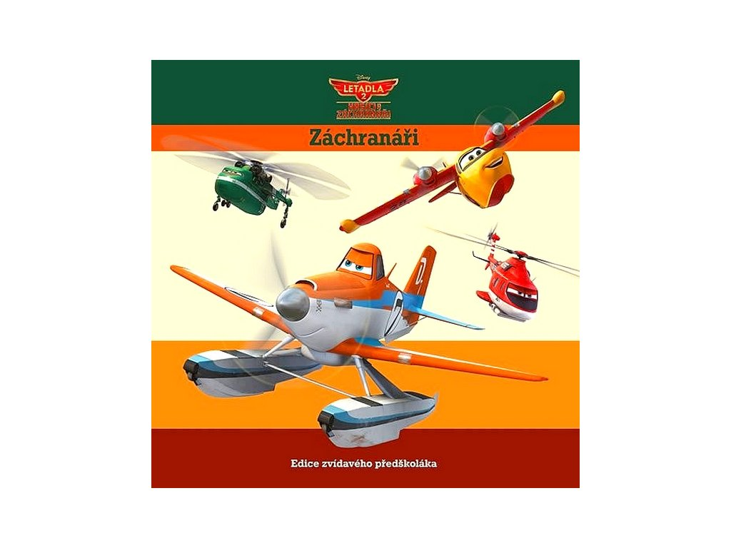 Letadla 2 záchranáři - Walt Disney