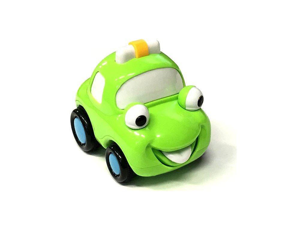 Q-Machines veselé auto zelené 3913