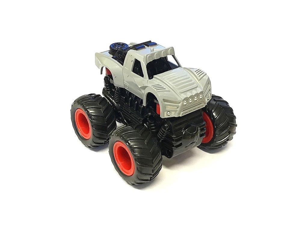 Small Monster 4x4 SUV auto na setrvačník 9cm šedé B
