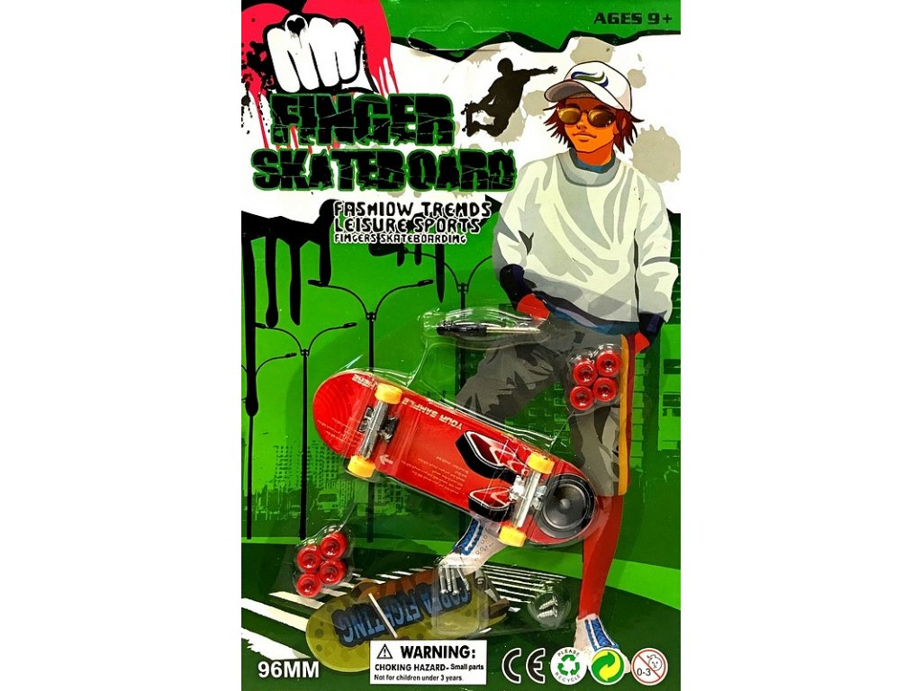 Finger Skateboard 96mm (0875C) do ruky