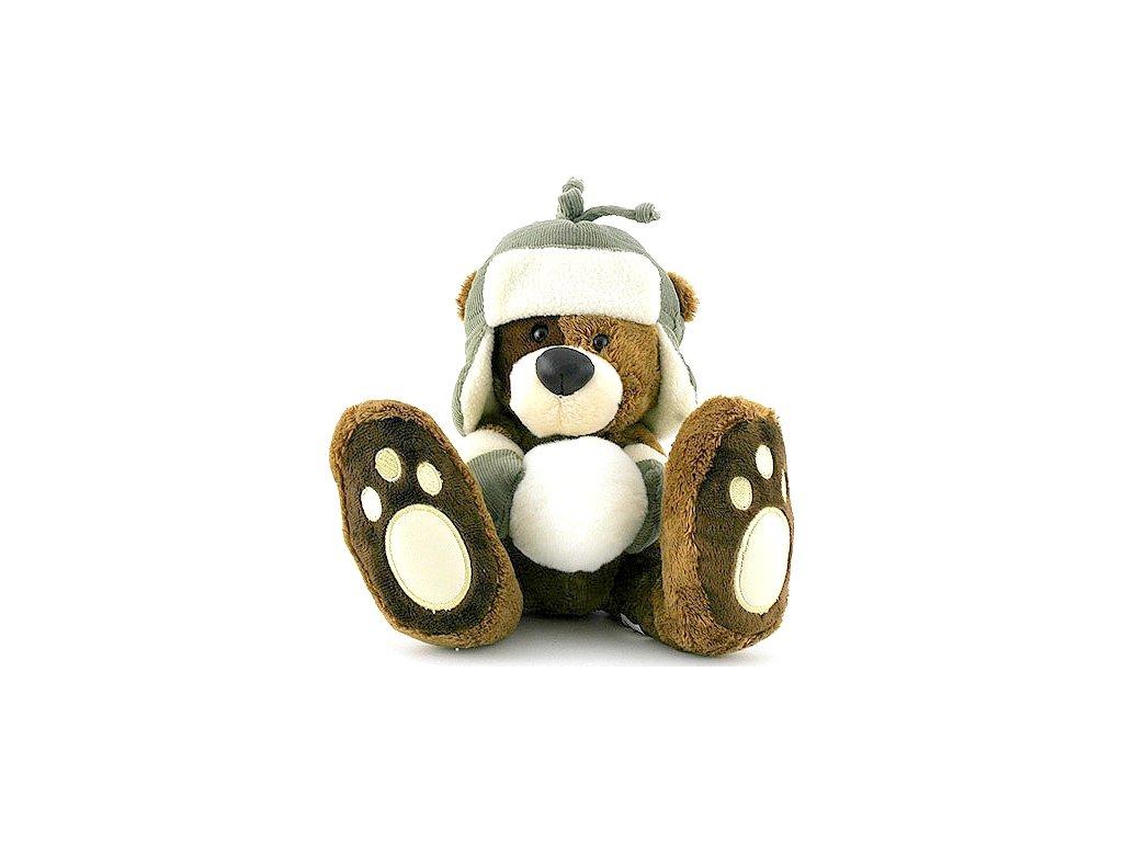 Teddy Bigfoot Medvídek v beranici 13cm