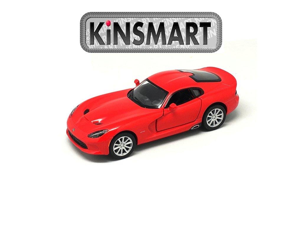 Kinsmart Auto Viper GTS 2013 SRT červené