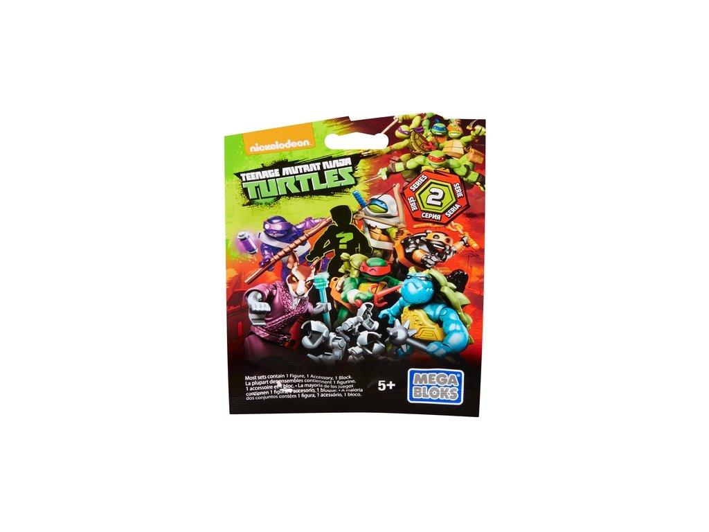 Mega Bloks TMNT Želvy Ninja akční figurky v sáčku - 2.série