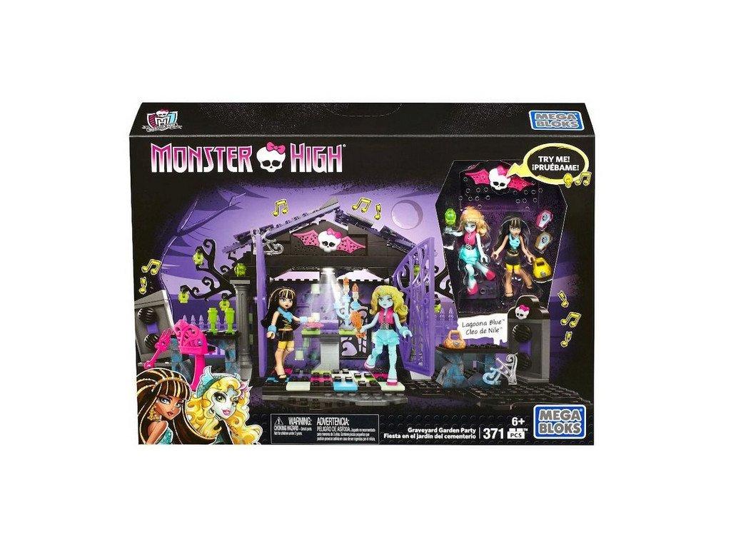 Mega Bloks Monster High Hřbitovní párty
