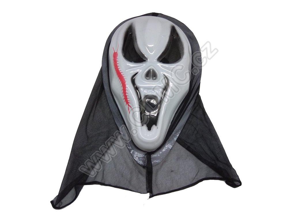 CDMC Maska Upír Bílý 1