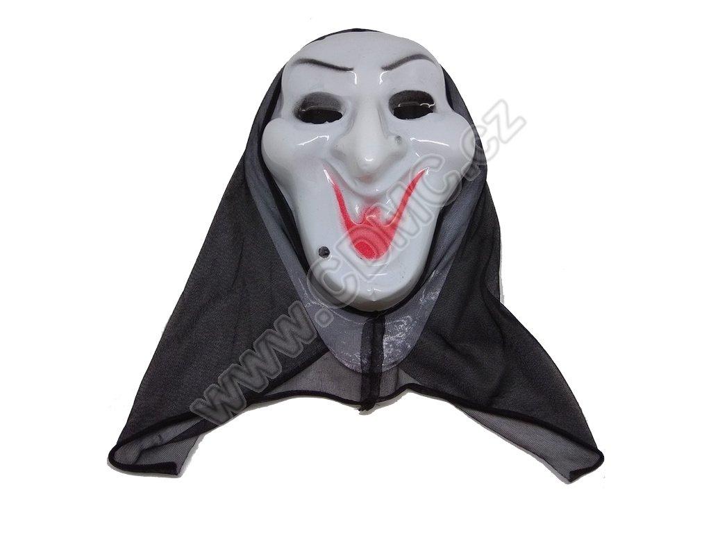 CDMC Maska Upír Bílý 2