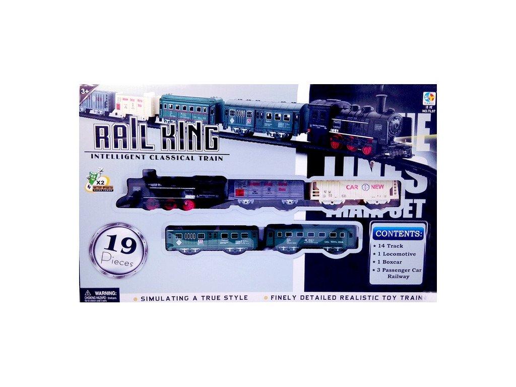 Vláček - Rail King Se světlem Velký A