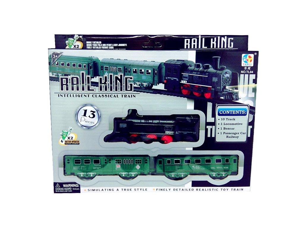 Vláček - Rail King Se světlem Malý B