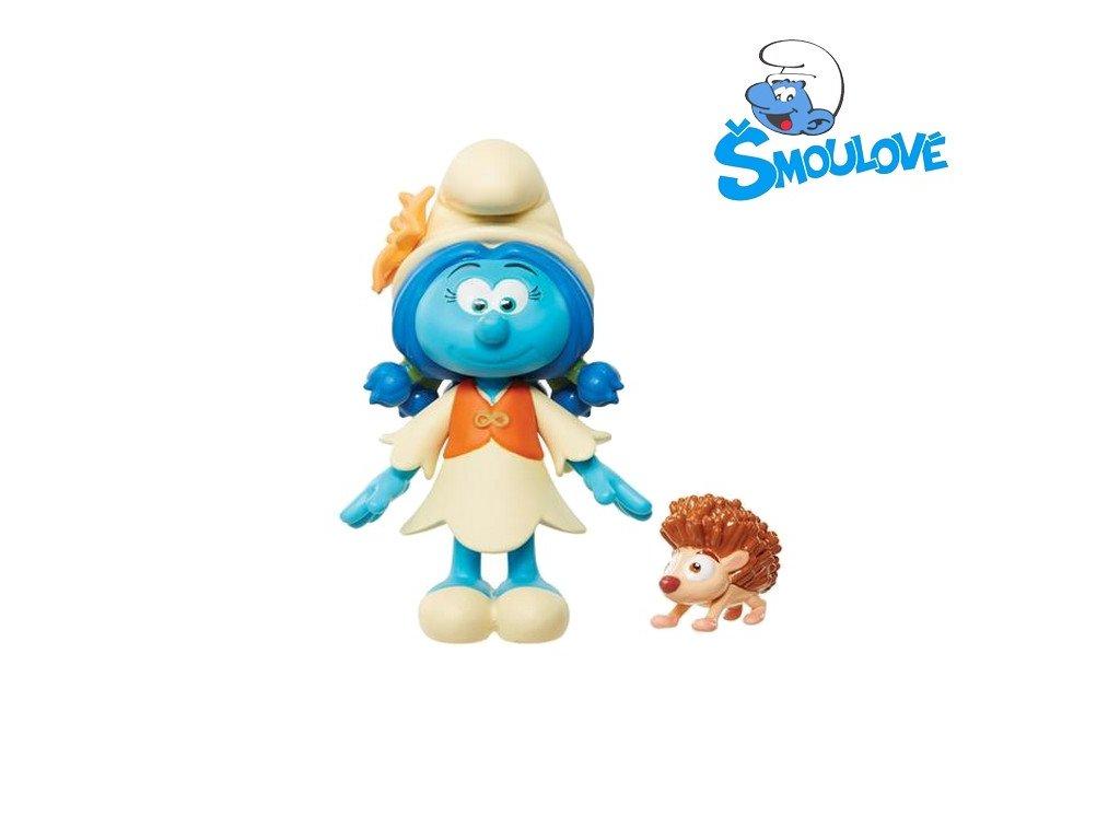 Šmoulové - figurka Smurflily a Cooper