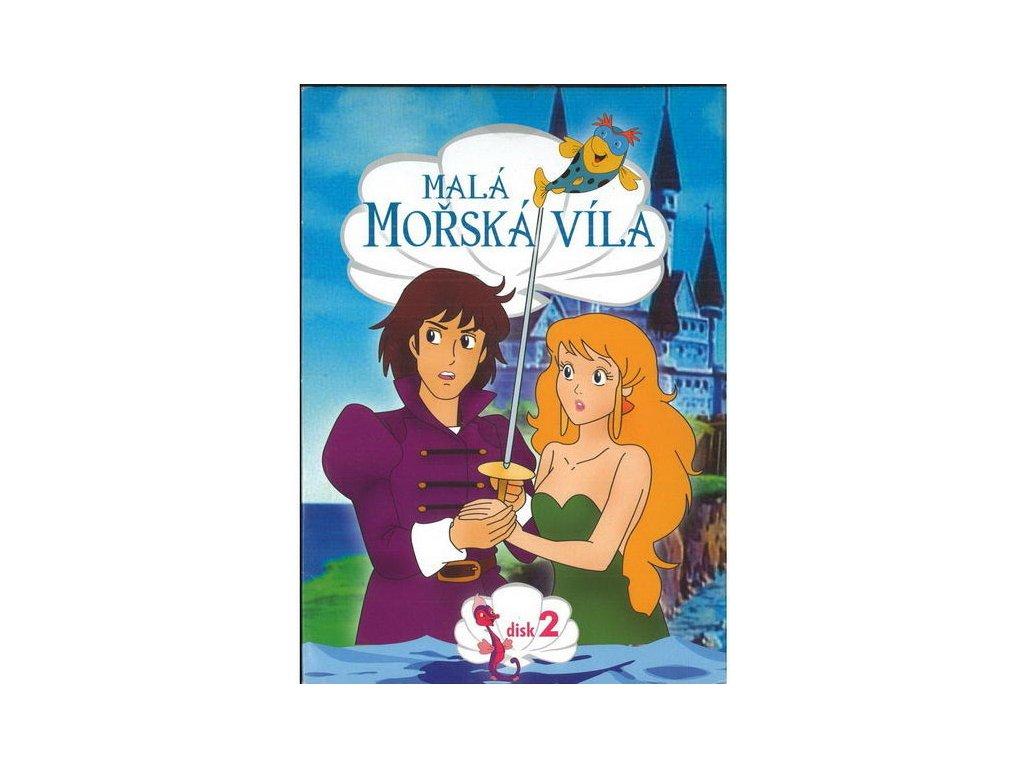 Malá mořská víla 2 DVD papírový obal